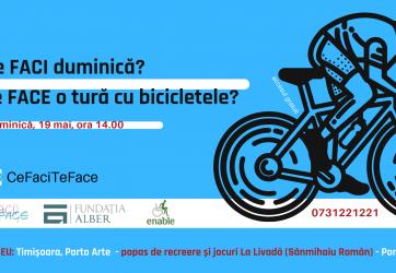 Ce FACI duminică? Te FACE o tură cu bicicletele?