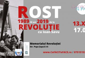 Cafeneaua tinerilor – ROST (13.12.2019)