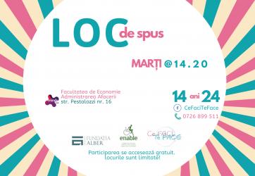 LOC de spus – atelier de dezvoltare socio-emoțională